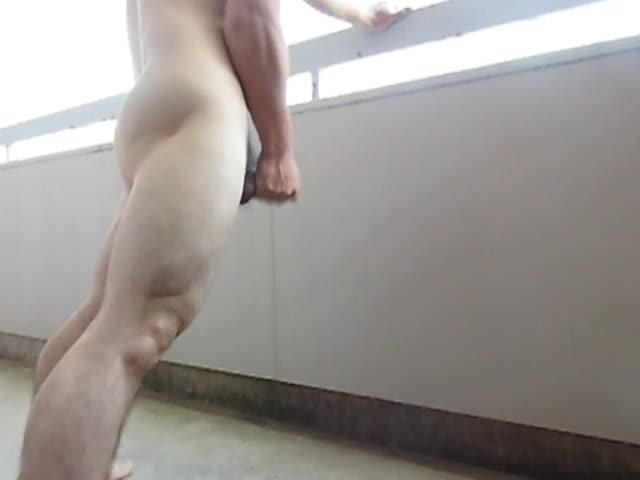 アパート廊下 精子ボタボタ